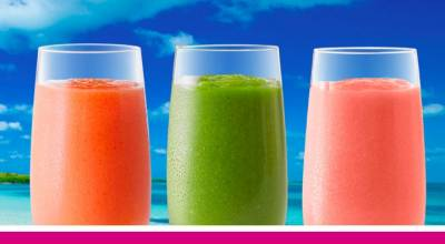 free smoothies to America's frontline heroes battling COVID-19
