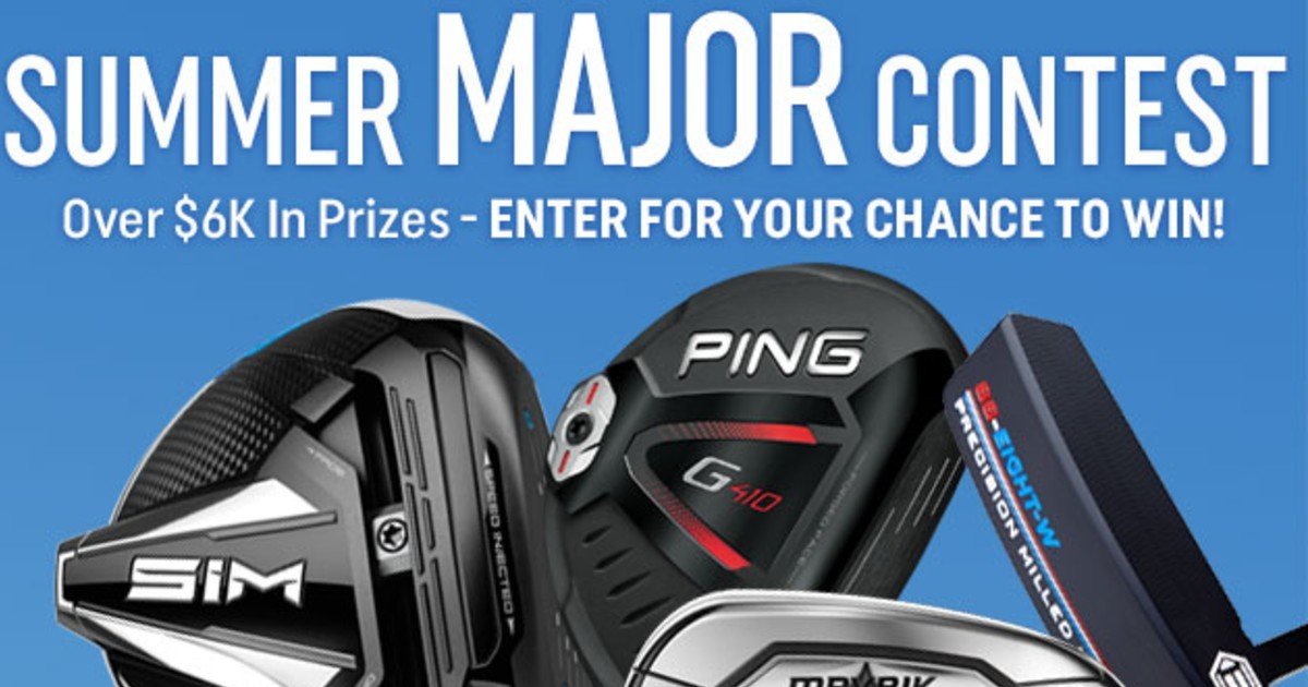 Win a $3,000 Full Set of Golf Clubs