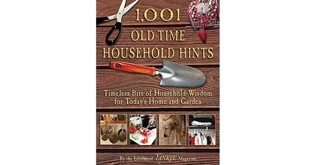 Free 1,001 Old-Time Household Hints eBook