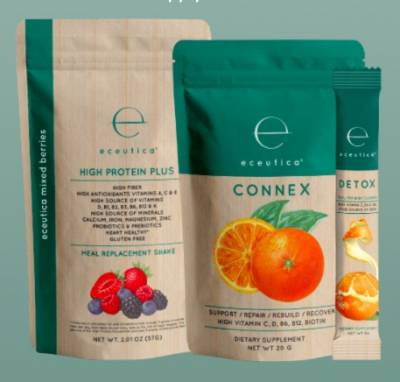 Free Sample of Eceutica Nutrition Shake