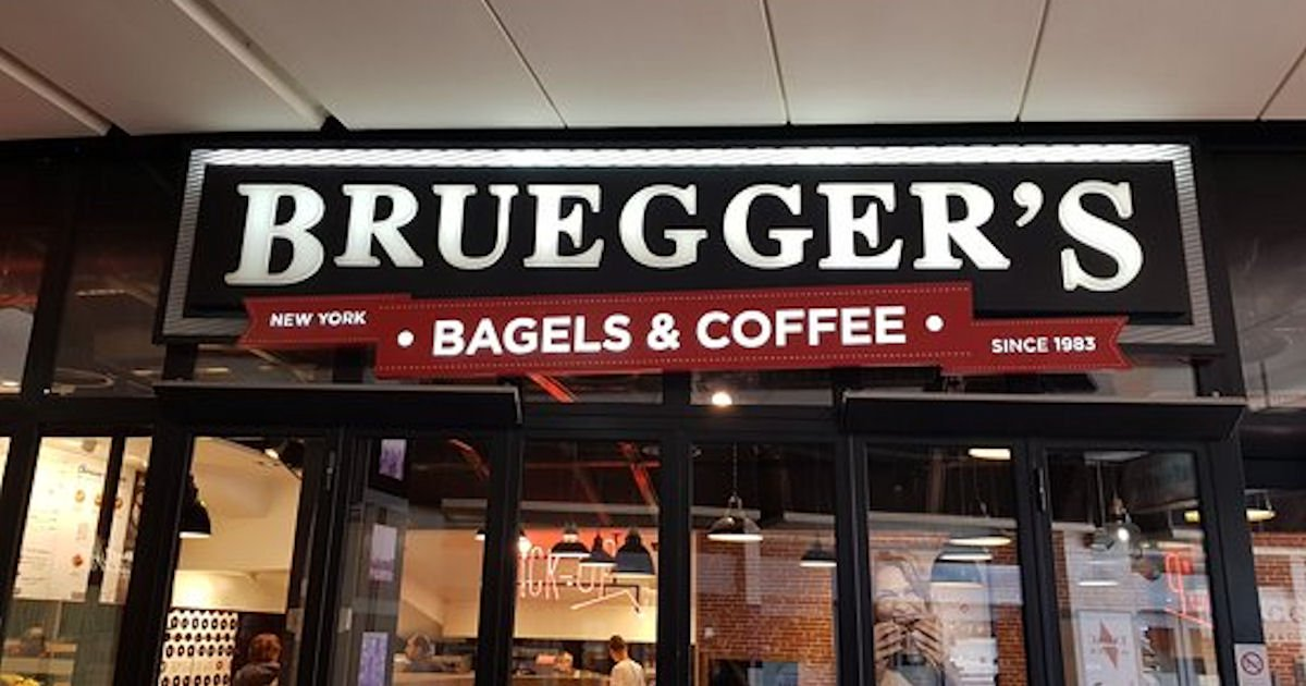 Free Bagel & Cream Cheese at Brueggers Bagels