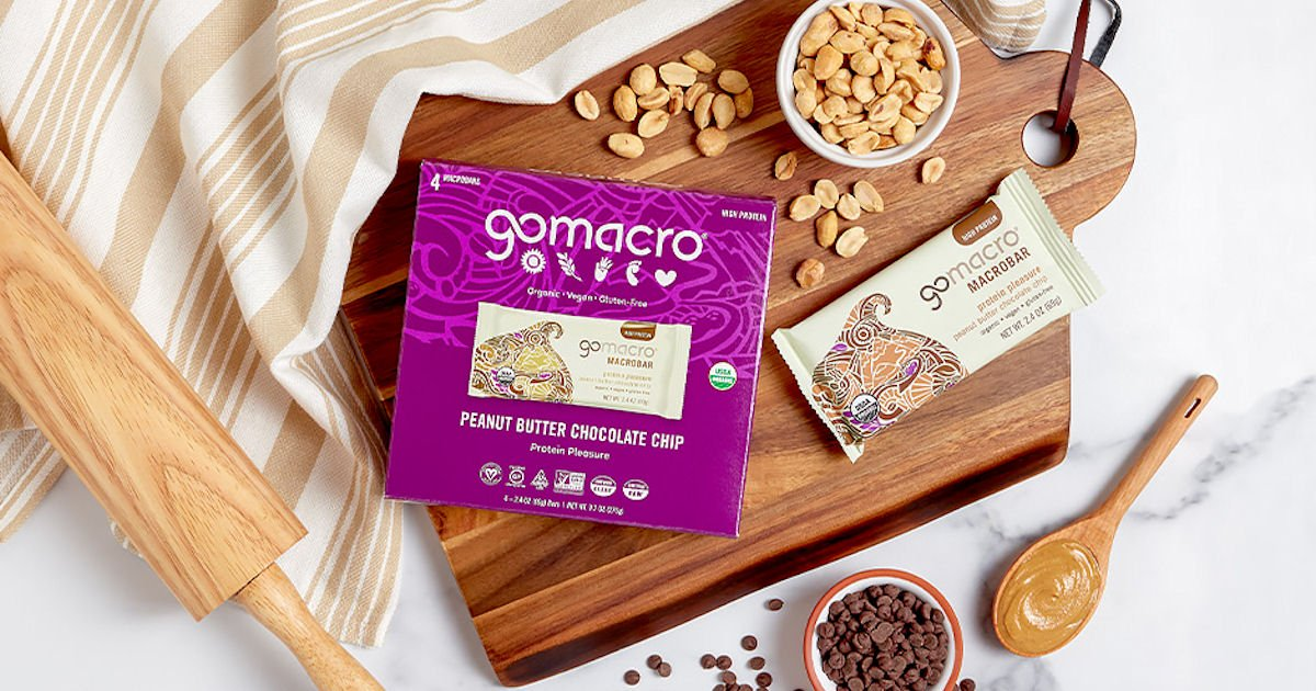 Free GoMacro Peanut Butter Chocolate Chip MacroBars