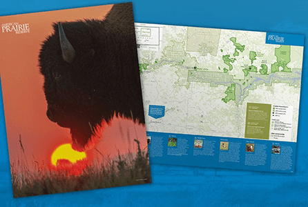 FREE American Prairie Poster and Map