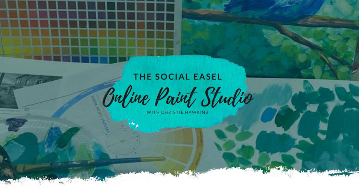 Free The Social Easel Online Painting Class