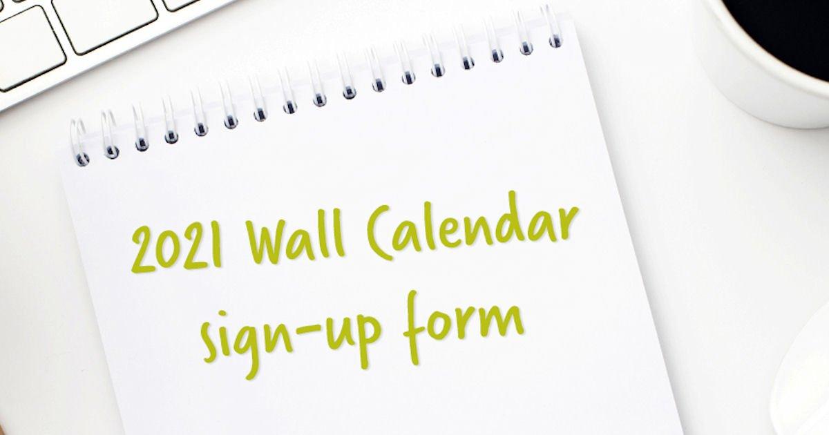 Free 2021 Call 811 Calendar