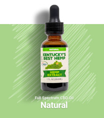 FREE Bottle of Kentucky's Best Hemp CBD Oil