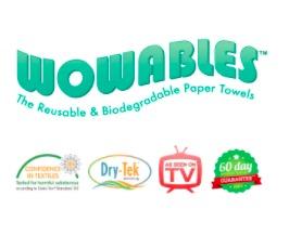 Free Sample of Wowables® Reusable Paper Towels