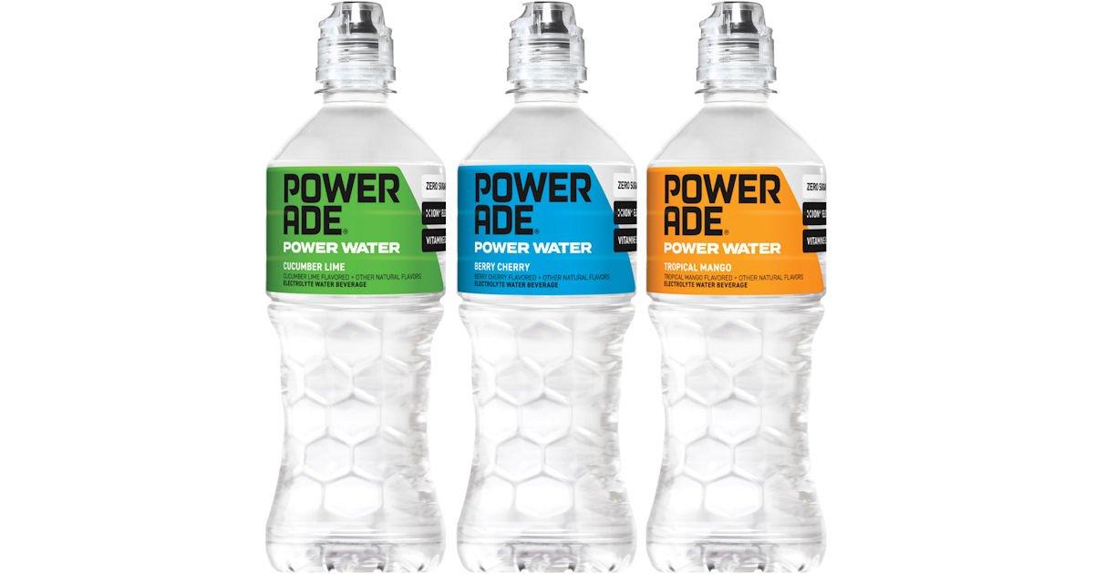 Free Powerade Power Water at Jewel