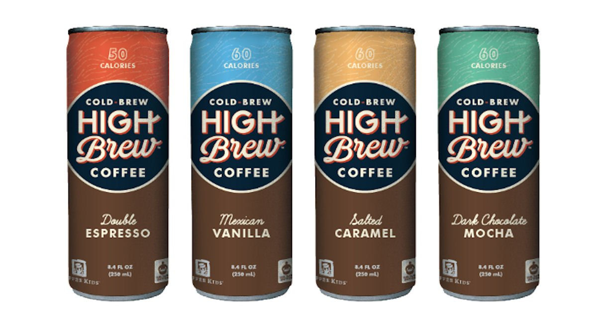 Free Can of High Brew Coffee on 29th
