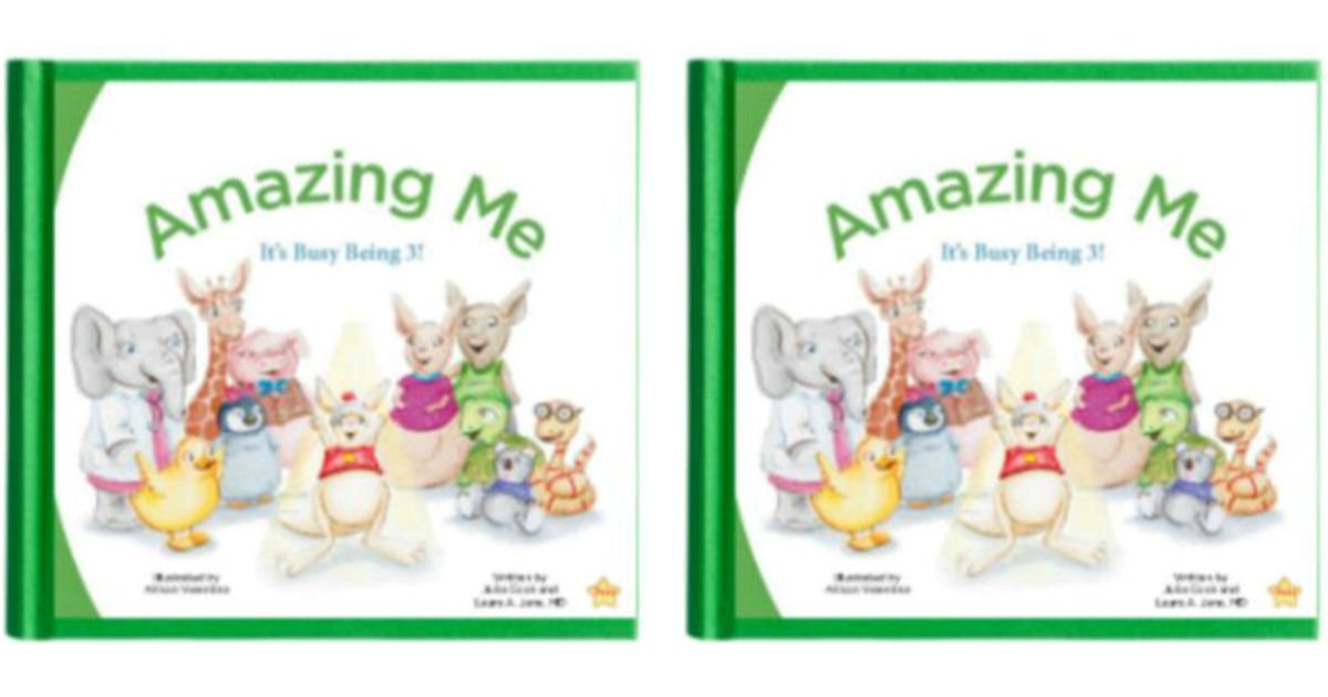Free Copy of Amazing Me It's Busy Being 3! Book