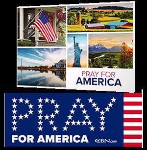FREE Pray For America Bumper-Sticker