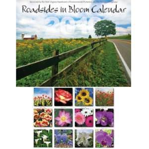 FREE 2021 West Virginia Roadsides in Bloom Calendar