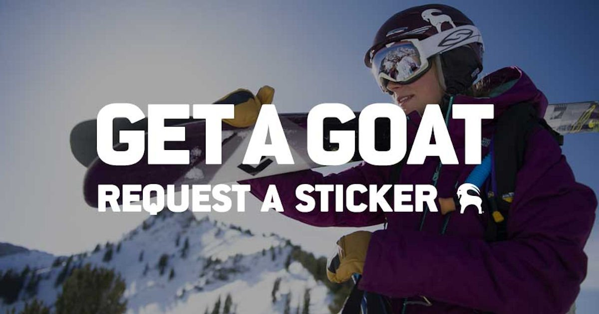 Free Backcountry Stickers