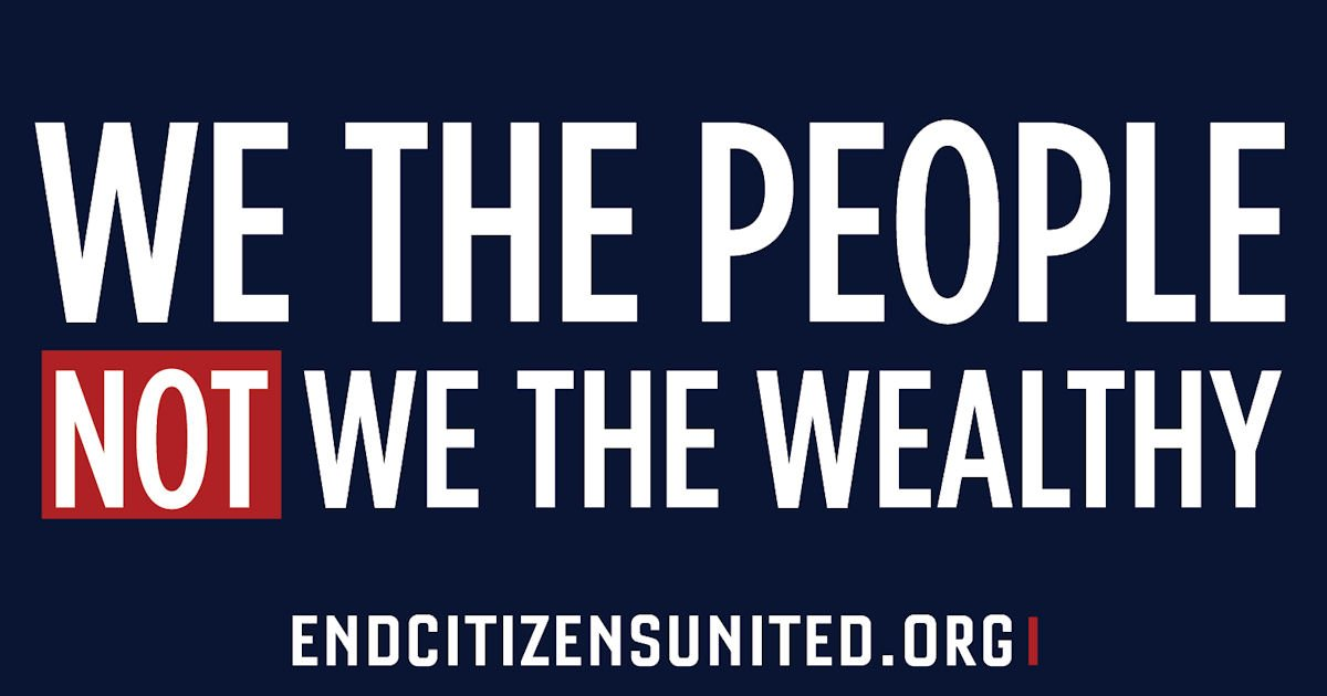Free We the People, Not We the Wealthy Sticker