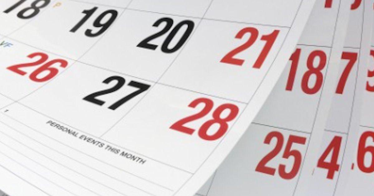 Free 2021 Goldstein's Funeral Home Calendar