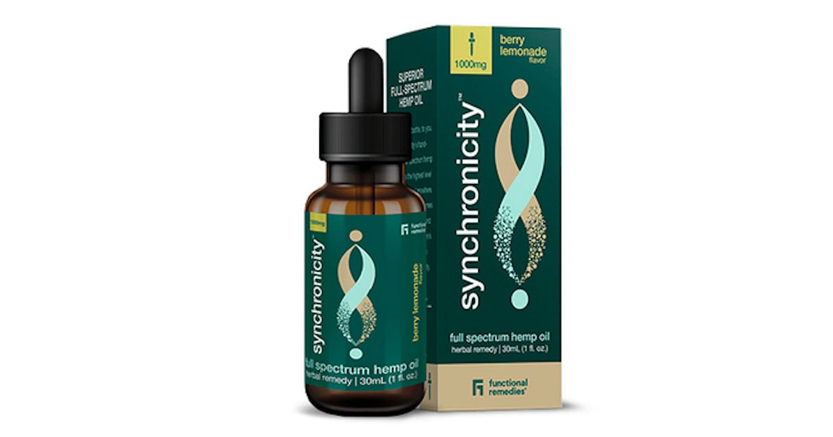 Free Synchronicity Full-Spectrum Berry Lemonade Hemp Oil