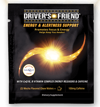 FREE Driver's Friend Energy Chews Sample