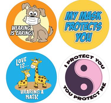 FREE Mask Stickers