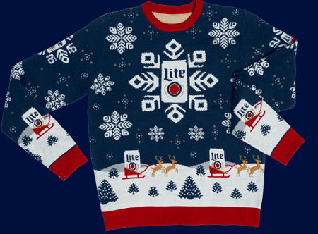 Miller Lite Holiday 2020 Instant Win Game (6,624 Winners!)