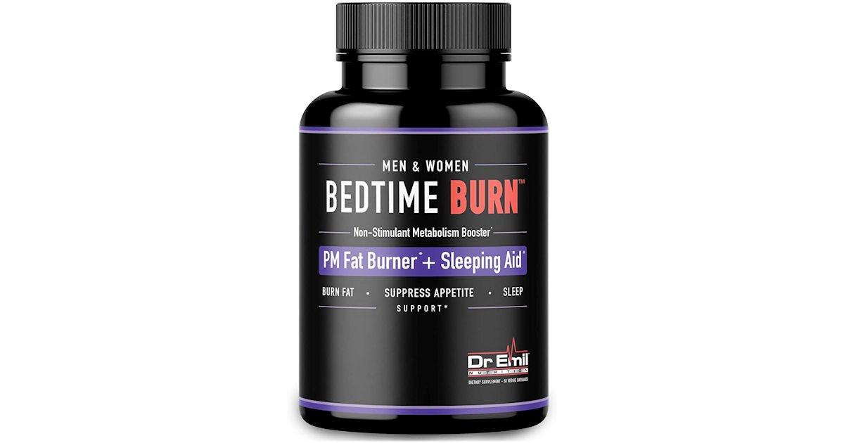 Free Bottle of Bedtime Burn