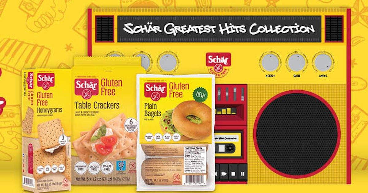 Free Schär's Greatest Hits Collection Sample Box