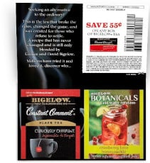 FREE Bigelow Constant Comment Tea Sample
