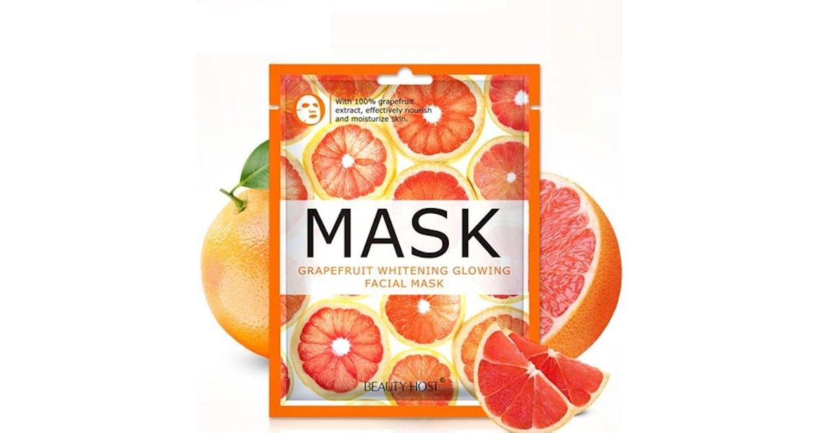 PINCHme - Possible Free Grapefruit Whitening Glowing Facial Mask