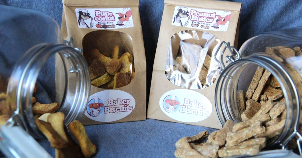 Free Sample of Baker Biscuits Grain Free Dog Treats
