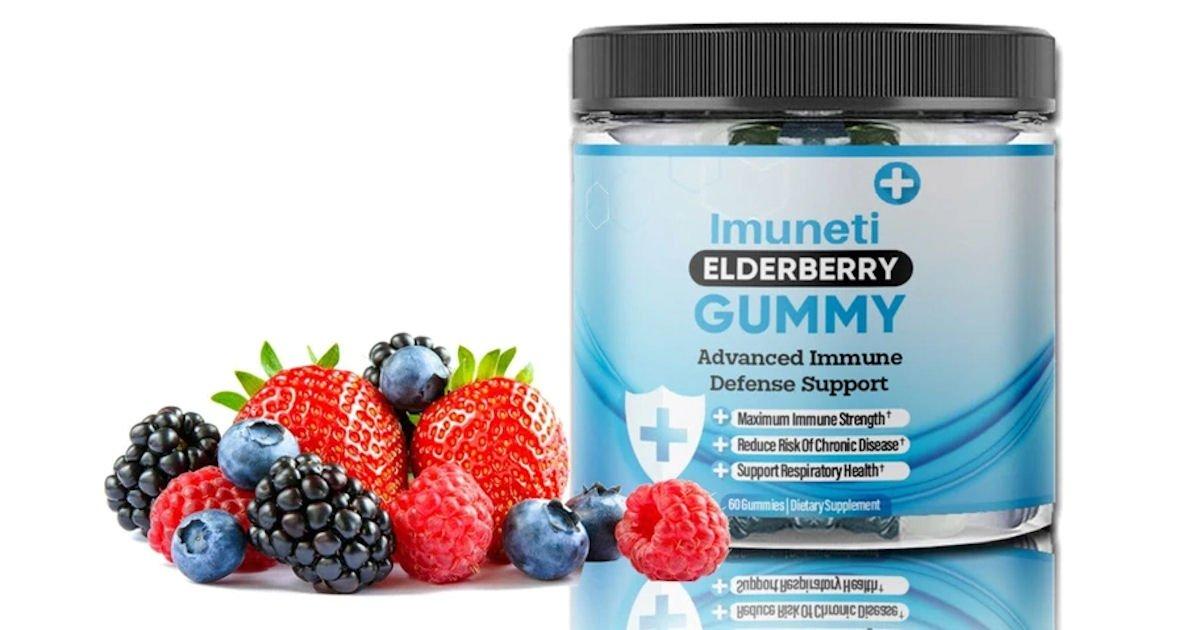 Free Imuneti+ Elderberry Gummies
