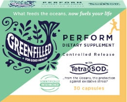 FREE Greenfilled Perform Dietary Supplement