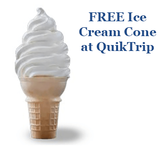 FREE Ice Cream Cone and Self-Serve Drink at QuikTrip