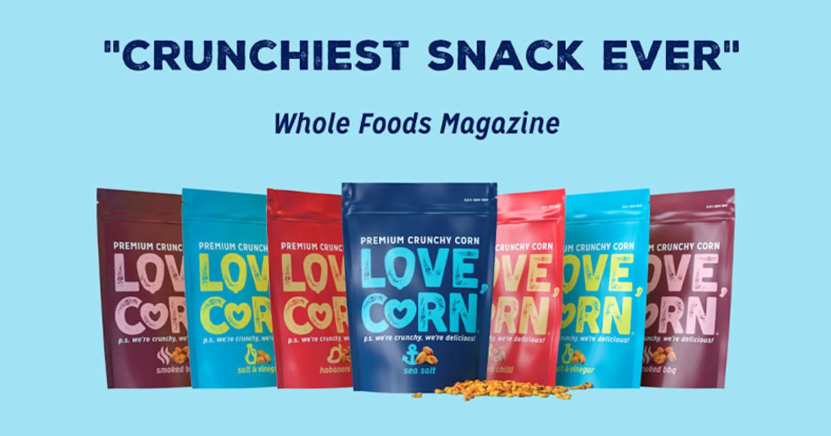 Free LOVE CORN Products