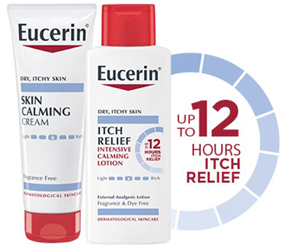 FREE Eucerin Itch Relief Intensive Calming Lotion or Skin Calming Cream from Dr Oz on December 15 at Noon EST