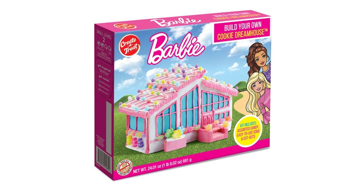 Free Barbie Dreamhouse Cookie Kit