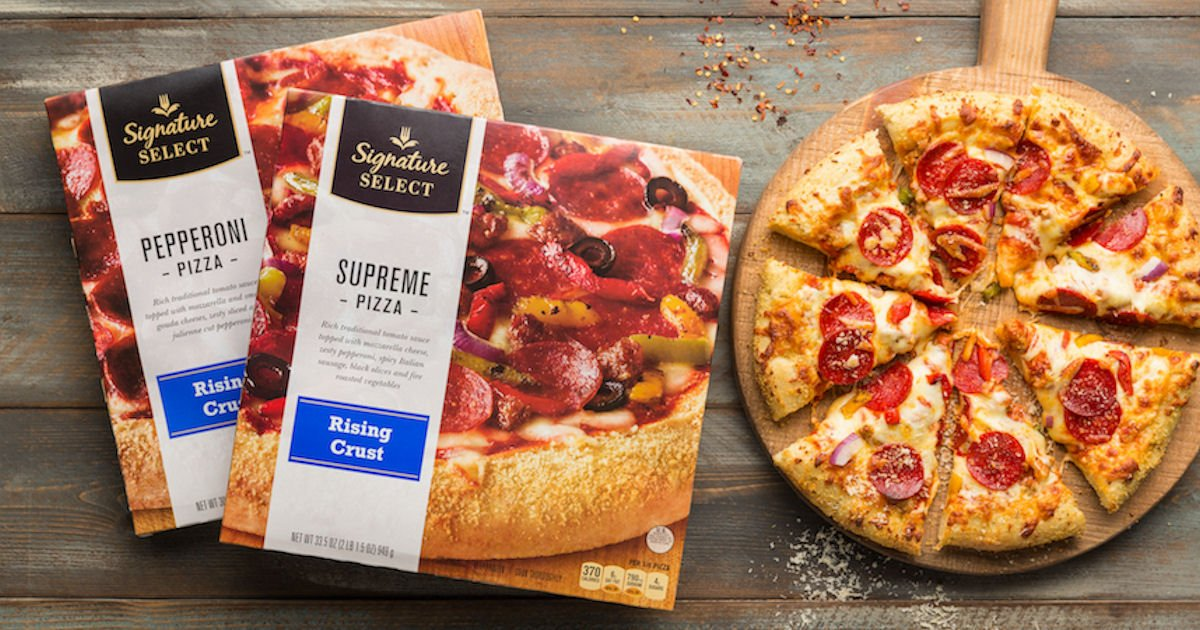 Free SELECT Signature Pizza for Safeway & Affiliates