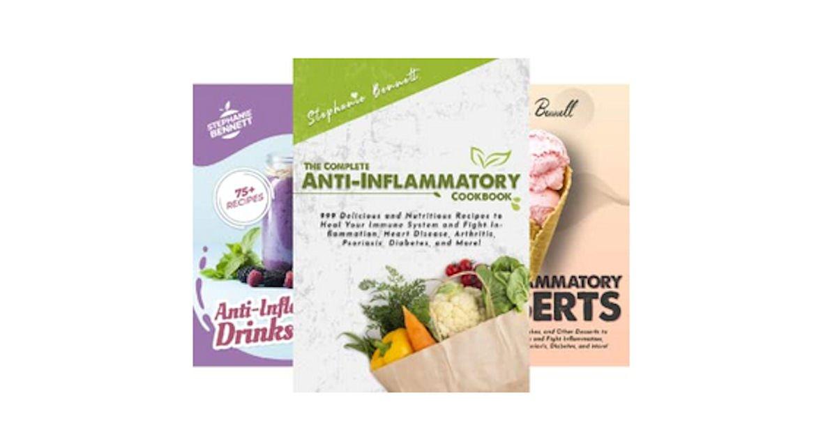 9 Free Anti-Inflammatory Diet eCookbooks