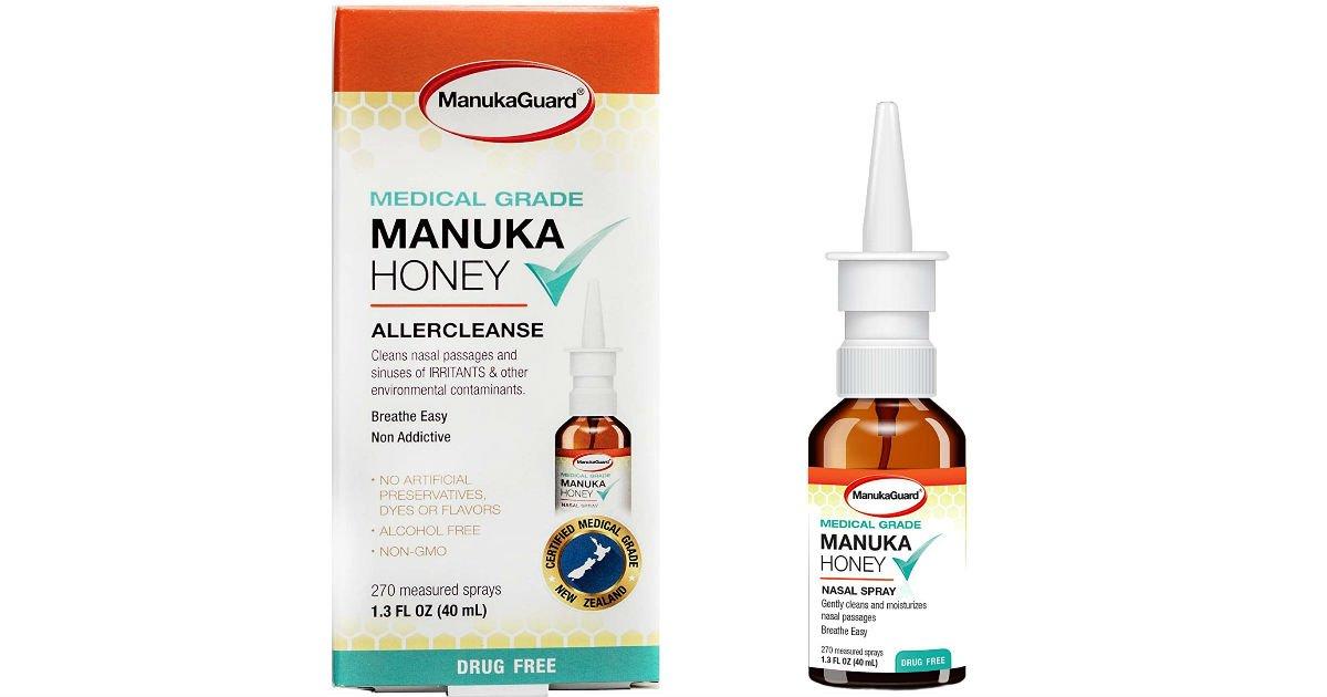 Free Manuka GuardHoney Nasal Spray from Daily Goodie Box