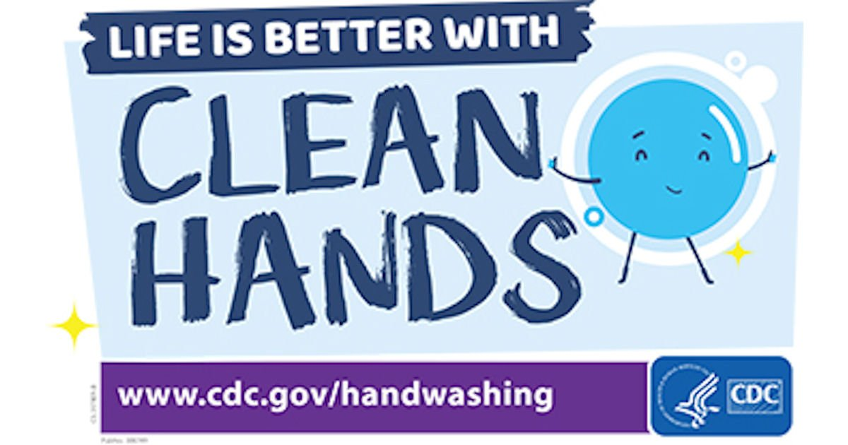 Free Life is Better with Clean Hands Sticker Sheet