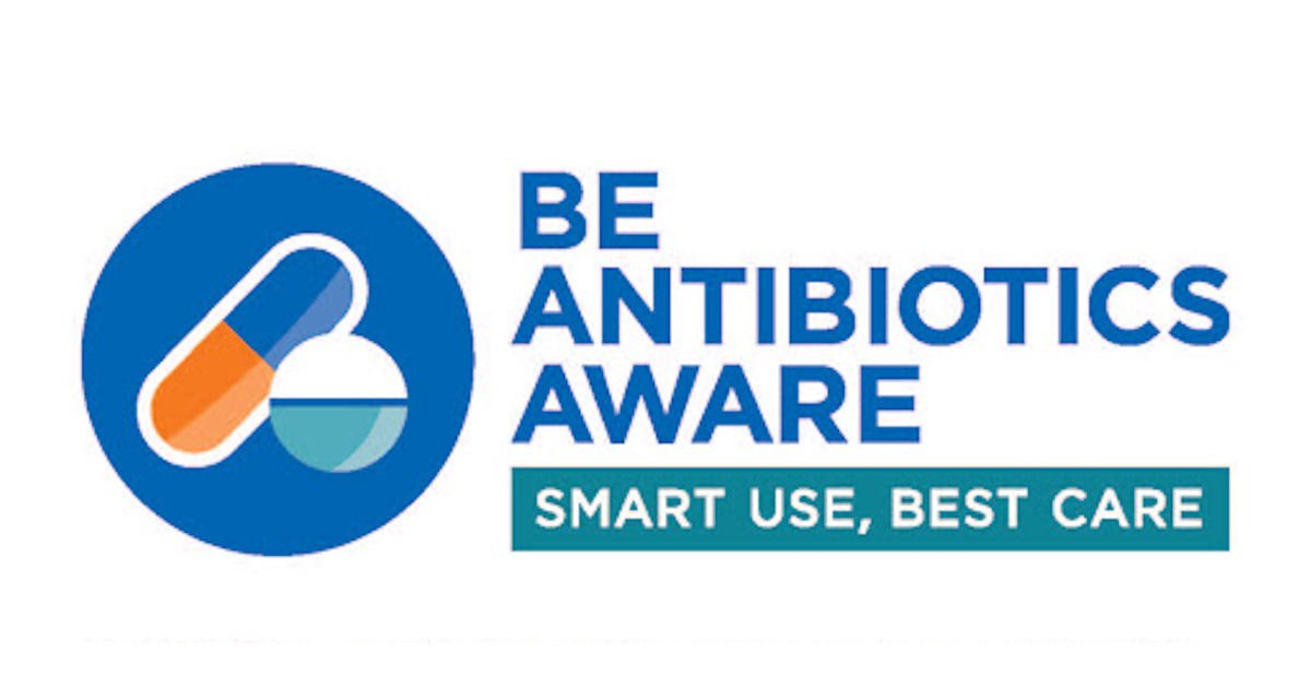 Free Be Antibiotic Aware Smart Use, Best Care Sticker Sheet