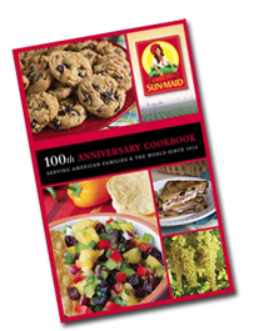 FREE Sun-Maid 100th Anniversary and Healthy Living Recipe Cook Books
