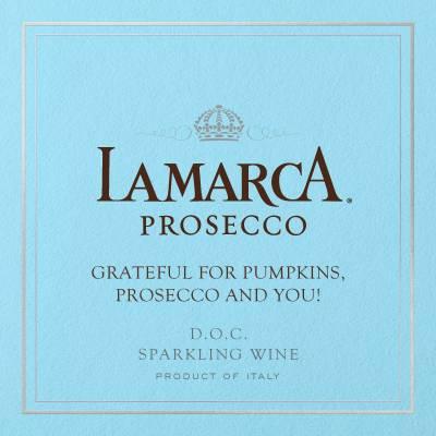 Free Custom La Marca Prosecco label