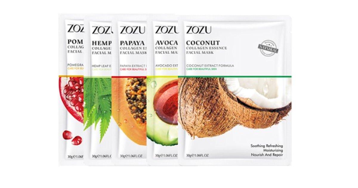 Possible Free ZoZu Natural Hydrating Facial Sheet Mask