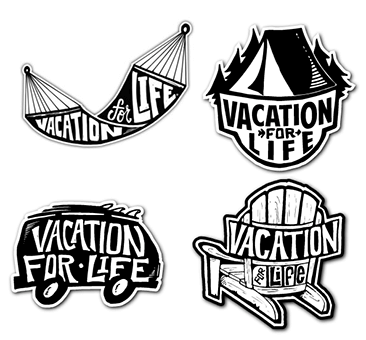 FREE Vacation for Life Stickers