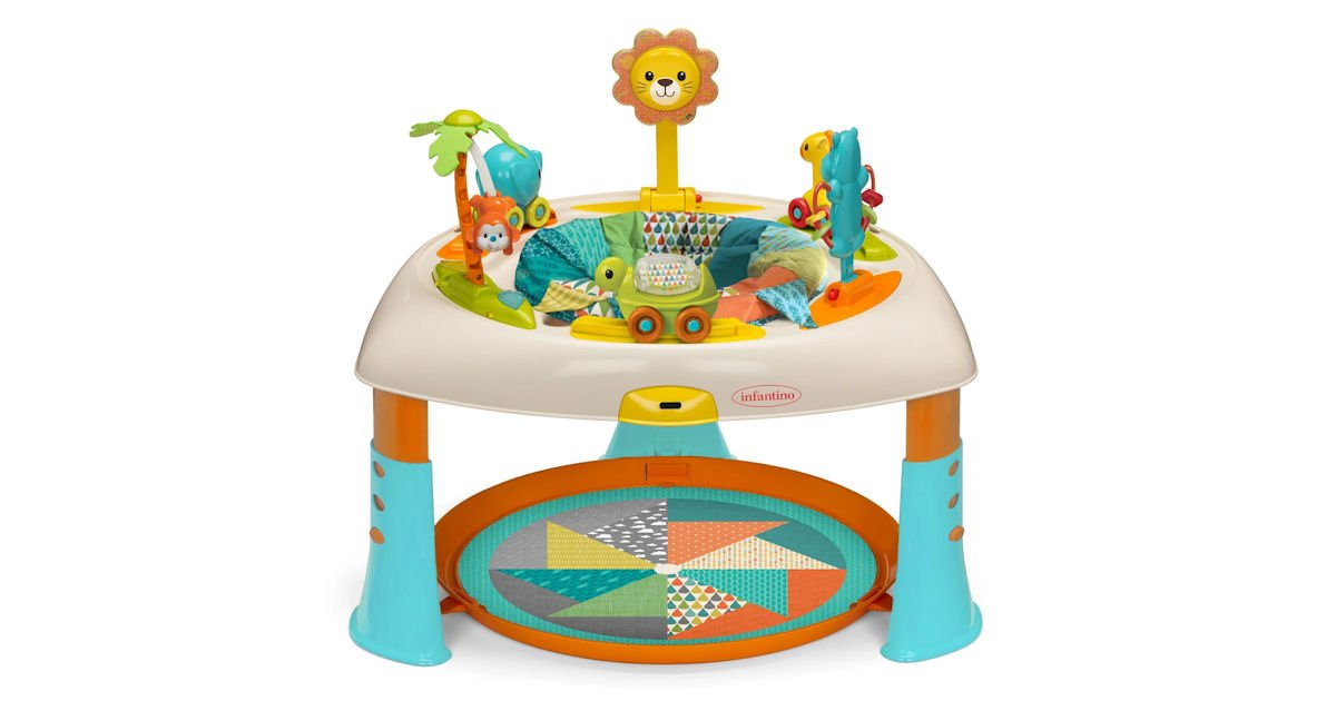 Free Infantino 3-in-1 Sit, Play & Go Let's Make Music Play Table