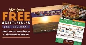 FREE 2021 #CattleTales Calendar