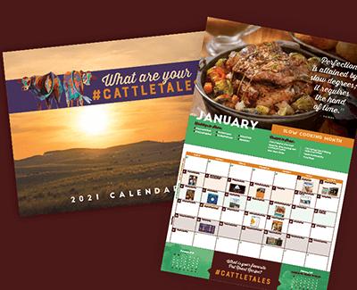 FREE 2021 Cattle Tales Calendar