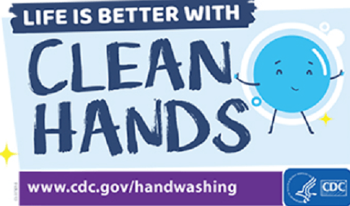FREE Life is Better with Clean Hands Static Cling & Sticker Sheet