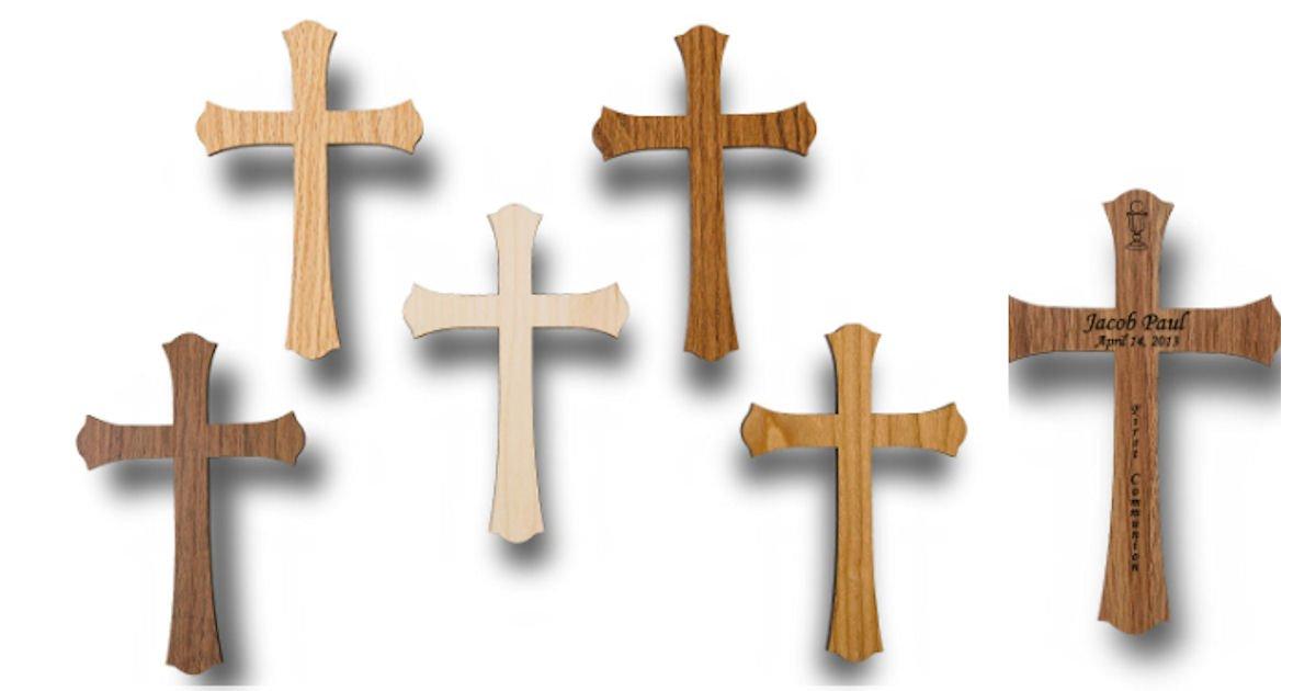 Free Wooden Keepsake Cross