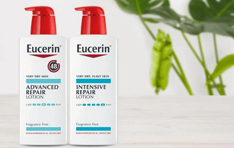 FREE Bottle Of Eucerin Repair Lotion on Today at Noon EST!