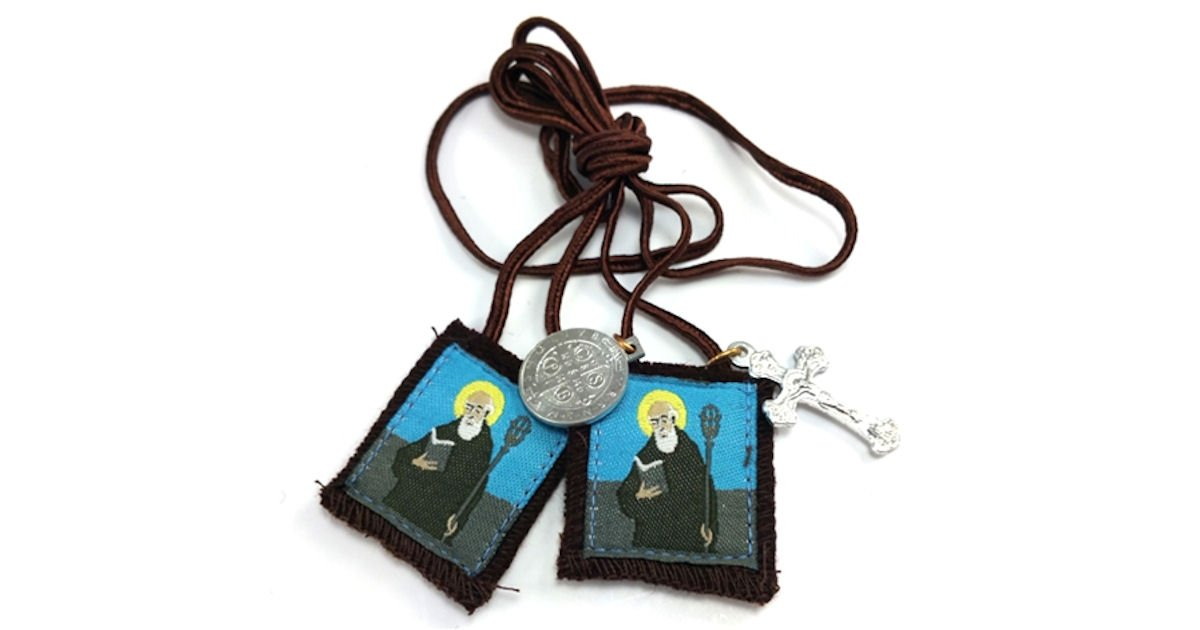 Free St. Benedict Scapular & Medal